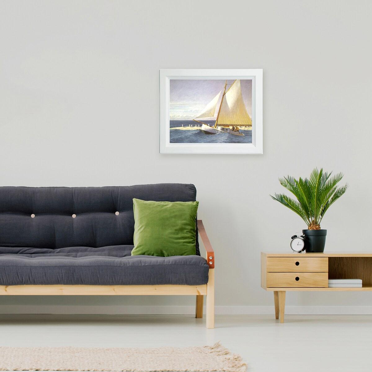 ラーソン・ジュール 油絵用額縁 A260 F4 ホワイト
