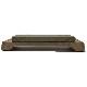亀印 天然合砥石 (正本山合砥) 100型 プラ台付 箱入 「仕上砥石」