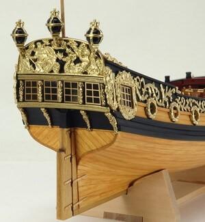 ウッディジョー木製帆船模型1/64チャールズヨット