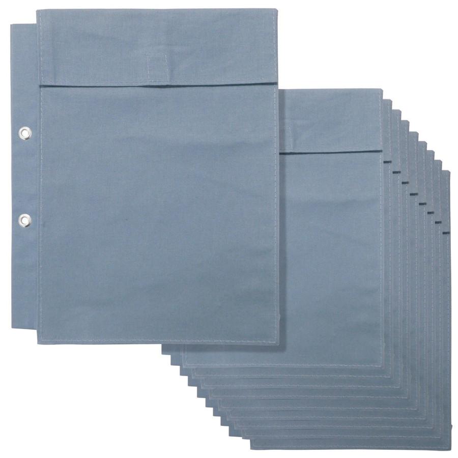 (10個セット) ウチダ(マービー) 図面袋 A4規格 2穴大玉ハトメ5cmマチ付き 品番:014-0173