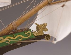 ウッディジョー木製帆船模型1/80サンファンバウティスタ