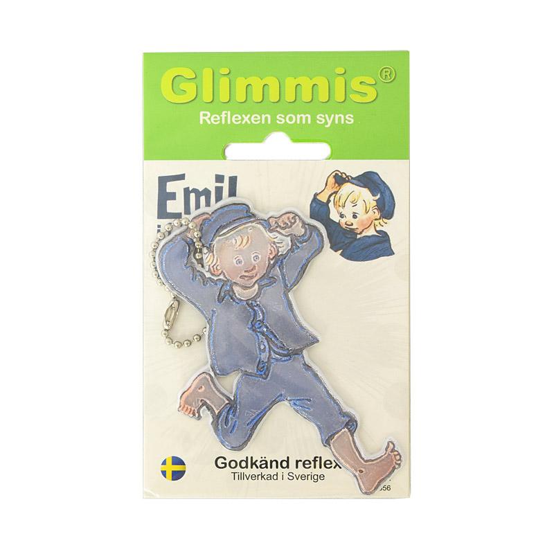 Glimmis (グリミス) / Emil エーミル 北欧安全キーホルダー リフレクター【5コ以上メール便無料】