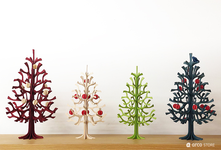 ミニクリスマスツリー Momi-no-ki【14cm】/ Lovi(ロヴィ)オーナメントカード【日本総代理店】メール便可