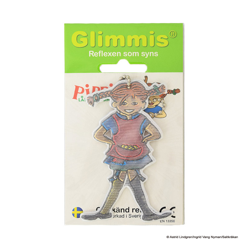 Glimmis (グリミス) / Pippi ピッピシリーズ北欧安全キーホルダー リフレクター【5コ以上メール便無料】