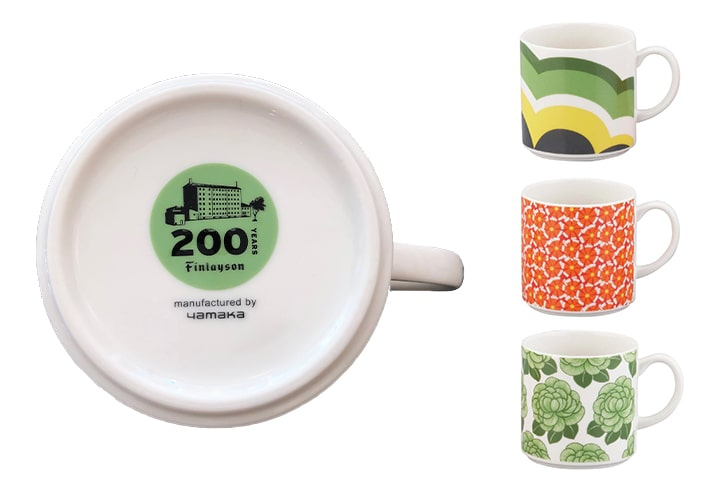 200周年記念デザイン マグカップ ANNUKKA アヌッカ   フィンレイソン Finlayson