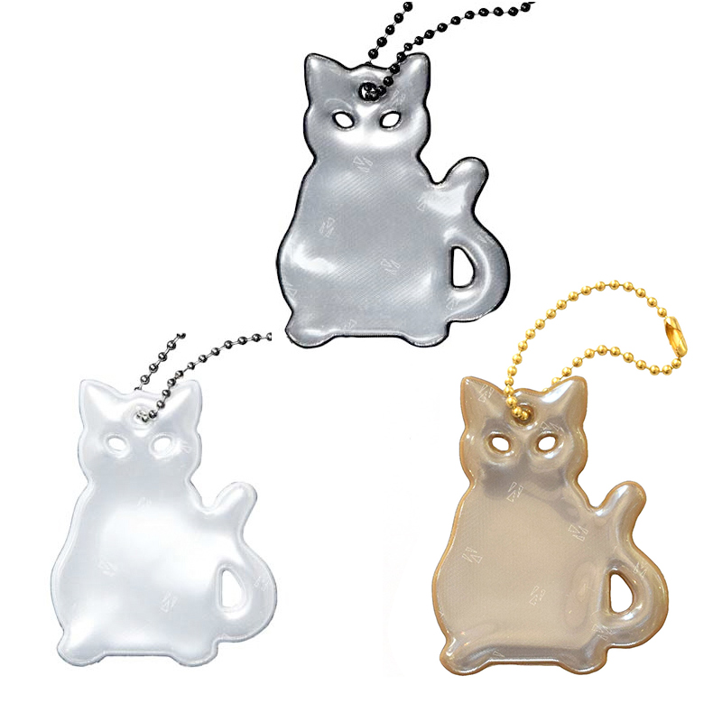 Glimmis (グリミス) / キャット 猫 ネコ ねこ 北欧安全キーホルダー リフレクター【5コ以上メール便無料】