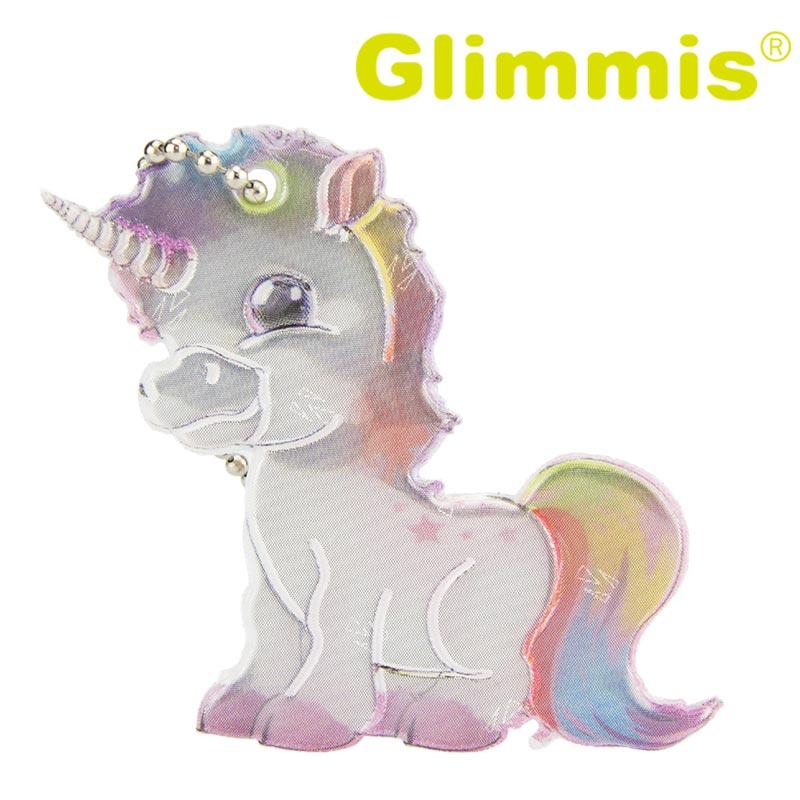 Glimmis (グリミス) / ユニコーン 北欧安全キーホルダー リフレクター【5コ以上メール便無料】