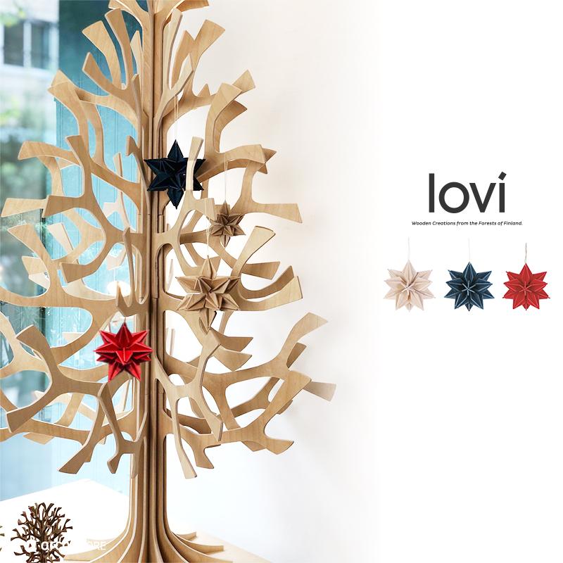 スター【7cm】 / Lovi(ロヴィ) オーナメントカード【日本総代理店】メール便可