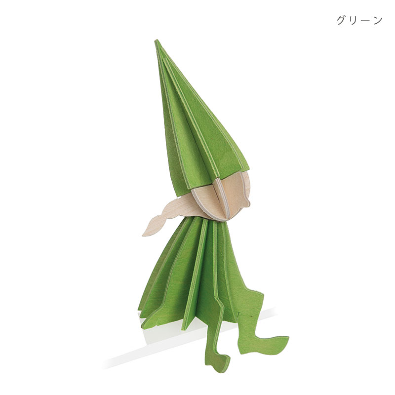 エルフガール【8cm】 Lovi (ロヴィ) オーナメントカード【日本総代理店】メール便可