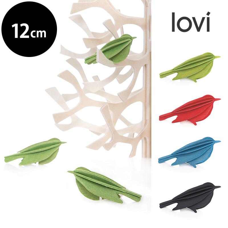 バード M【12cm】/ Lovi (ロヴィ) 北欧デザイン オーナメントカード フィンランド【日本総代理店】メール便可