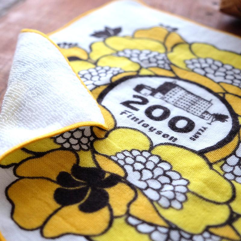 200周年記念デザイン ミニテリー タオル ANNUKKA | フィンレイソン Finlayson