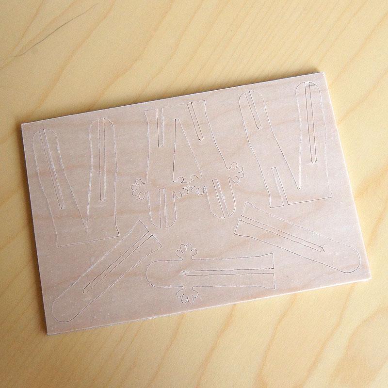 ニョロニョロ / Lovi (ロヴィ) オーナメントカード 【日本総代理店】メール便可