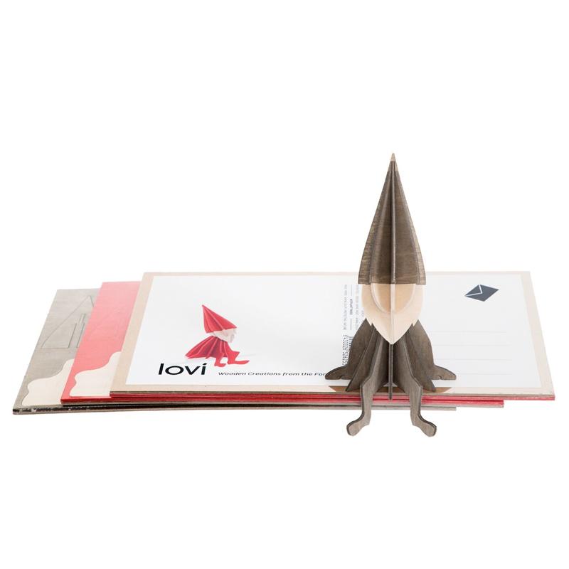 エルフ【16cm】Lovi (ロヴィ) オーナメントカード【日本総代理店】メール便可