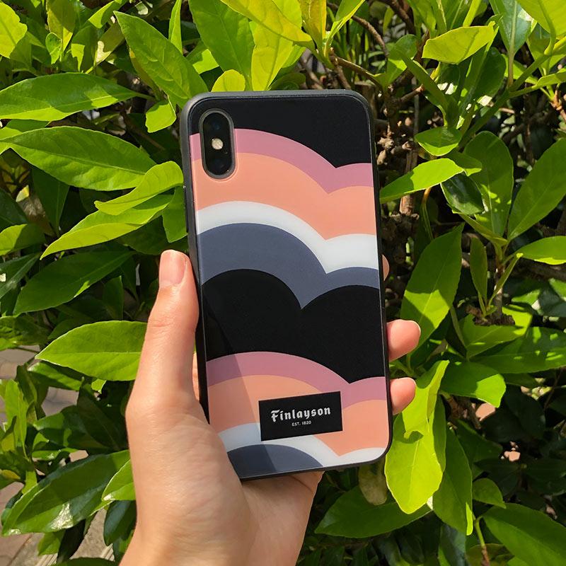 Finlayson (フィンレイソン) /  背面カバー iPhoneX/XS 兼用 スマートフォンケース【メール便可】