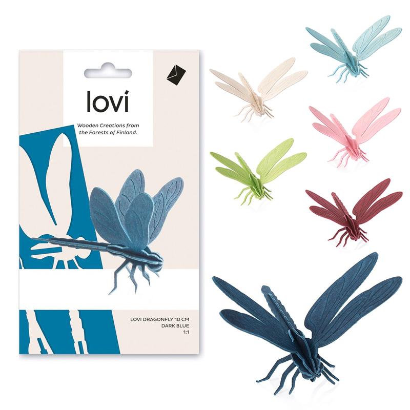 トンボ【10cm】/ Lovi(ロヴィ)オーナメントカード【ポイント10%】【日本総代理店】メール便可