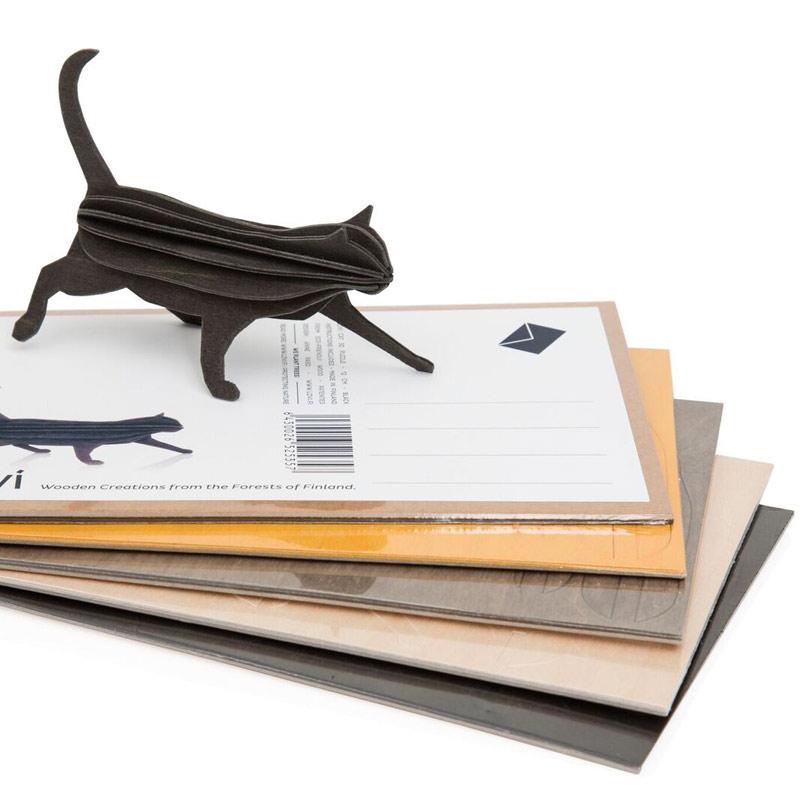 キャット 猫【12cm】 / Lovi(ロヴィ) オーナメントカード【ポイント10%】【日本総代理店】メール便可