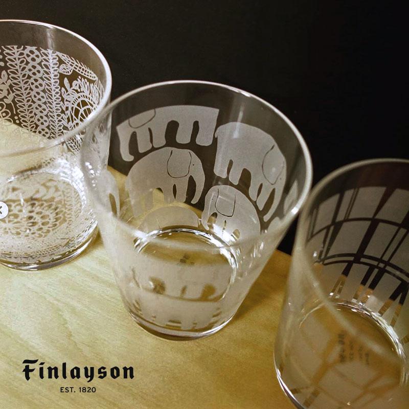 ガラスタンブラー | フィンレイソン Finlayson グラスコップ エレファンティ/コロナ/タイミ