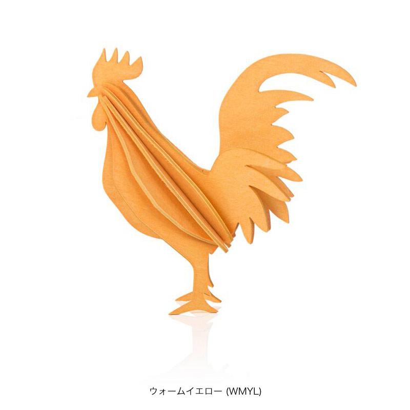 オンドリ【10cm】 / Lovi(ロヴィ)オーナメントカード【ポイント10%】【日本総代理店】メール便可