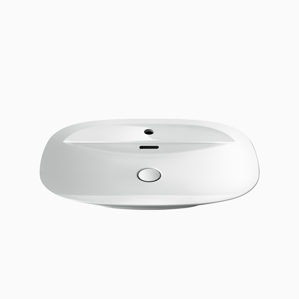 陶器洗面器 ベッセル W700