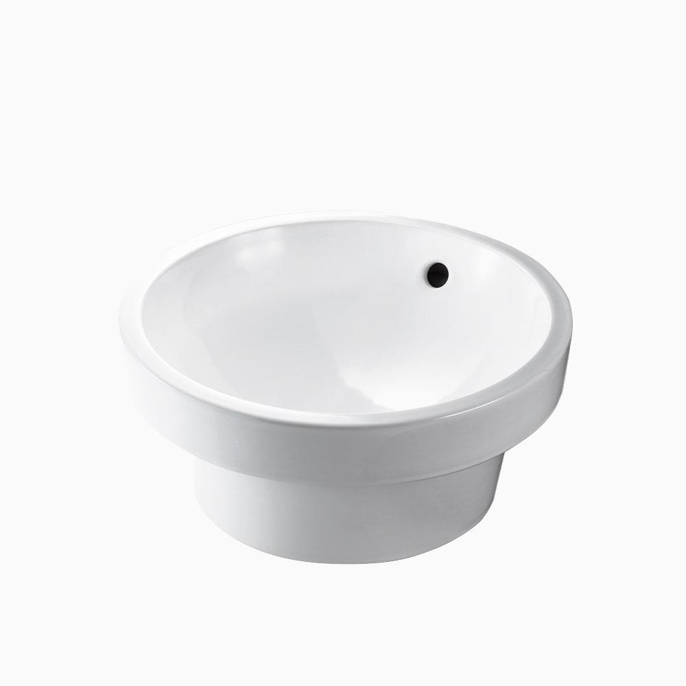 洗面器 オーバー W410