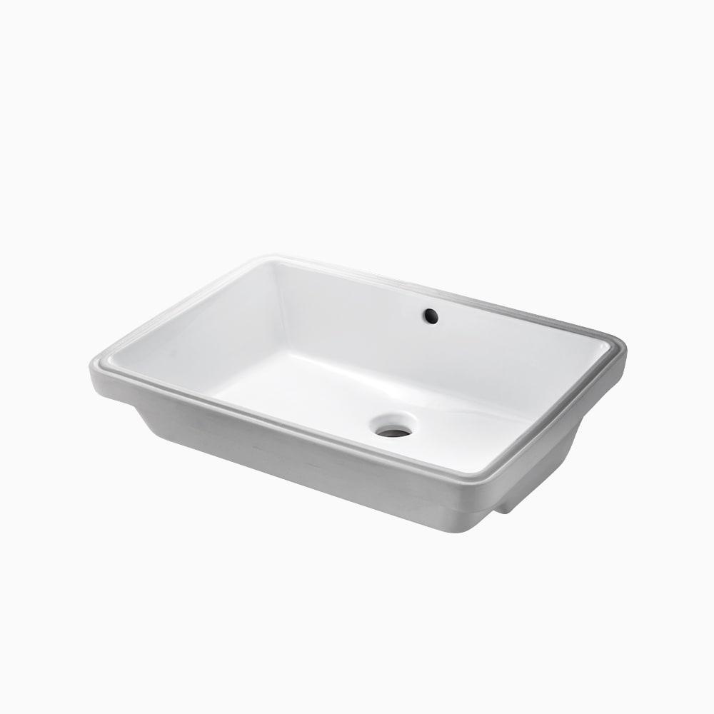 洗面器 アンダー W610