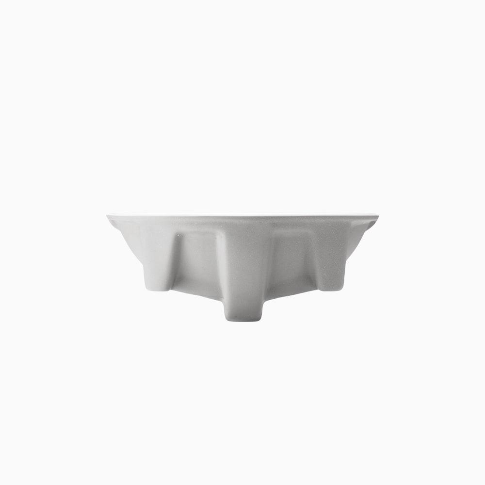 洗面器 アンダー W535