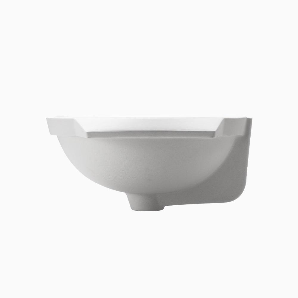 洗面器 アンダー W500