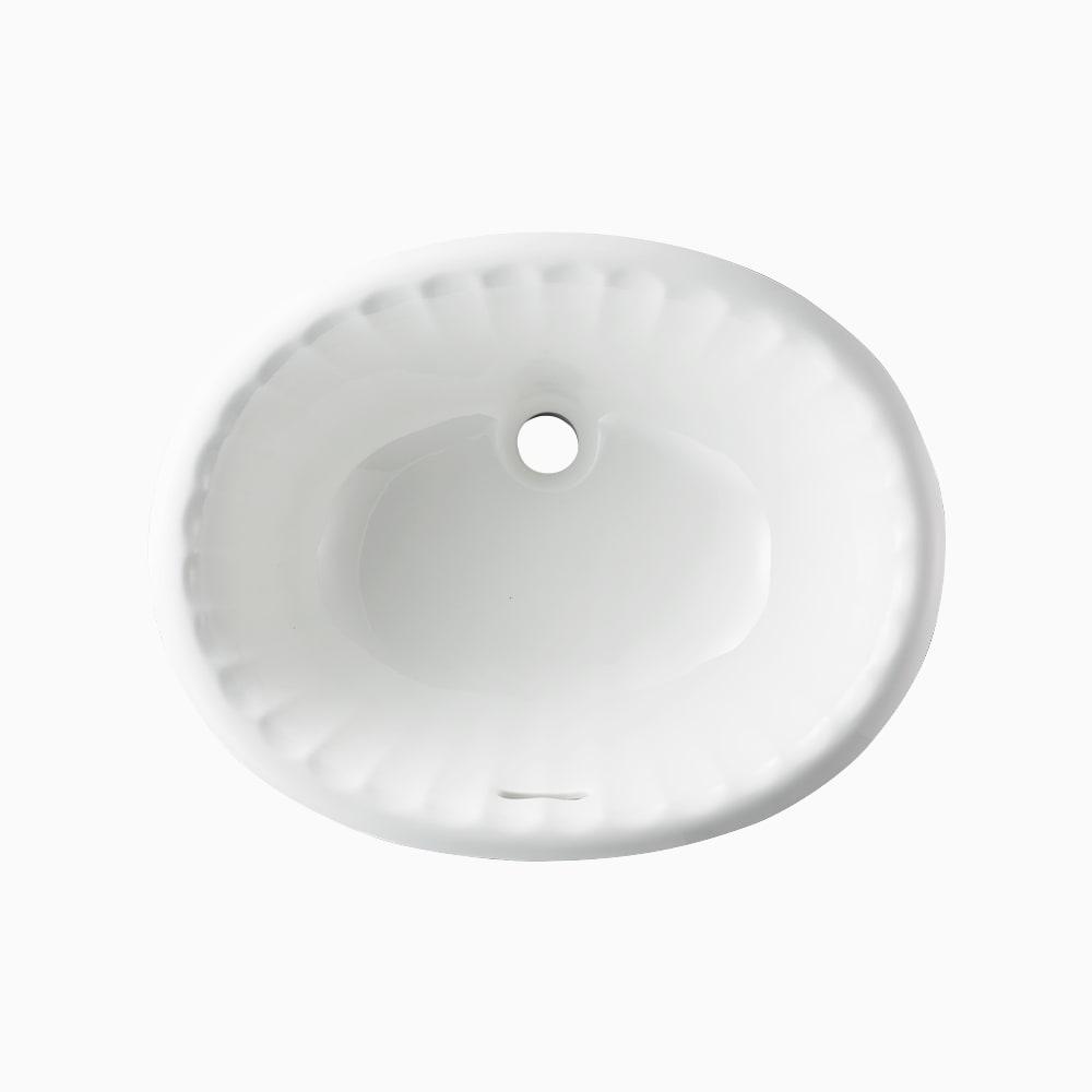 洗面器 オーバー W485