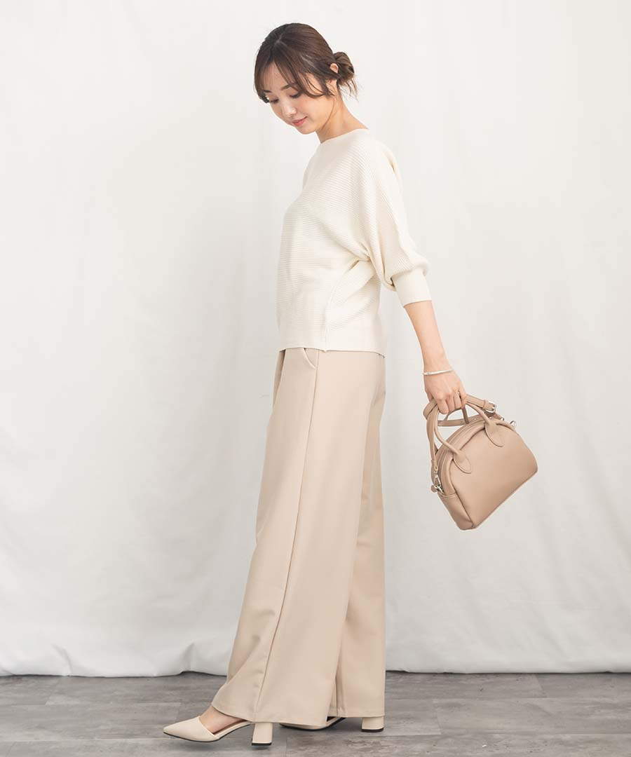 DolmanSleeve knit tops 25076 【メール便配送対応】