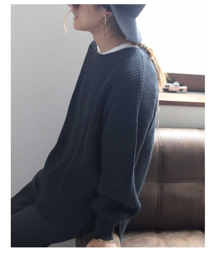 ARG knit tops 25008 【ゆうパックのみ】