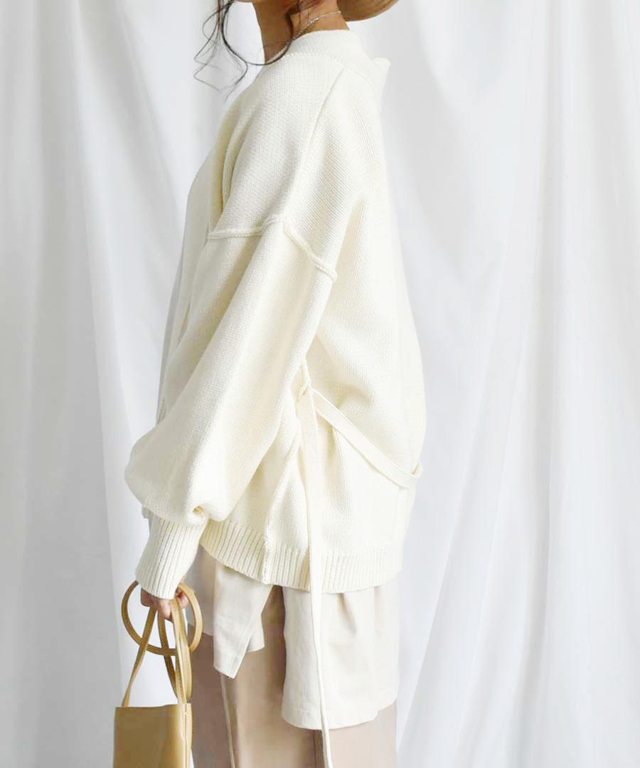 【クーポン利用不可・予約販売お届け予定3月中旬】ARG knit Cardigan 25010 【ゆうパックのみ】