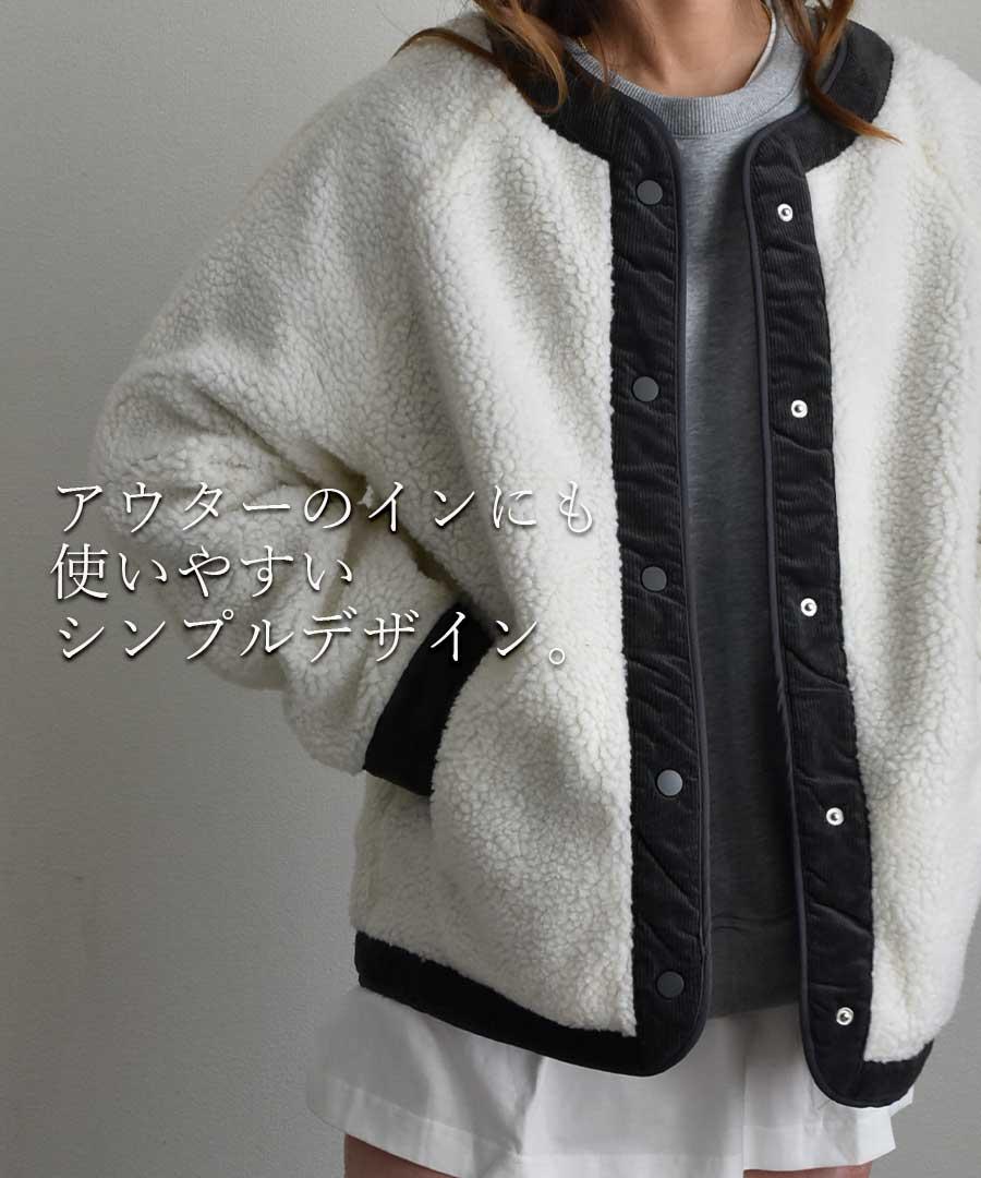 Back zippered sweatshirt pullover 24114 【ゆうパックのみ】