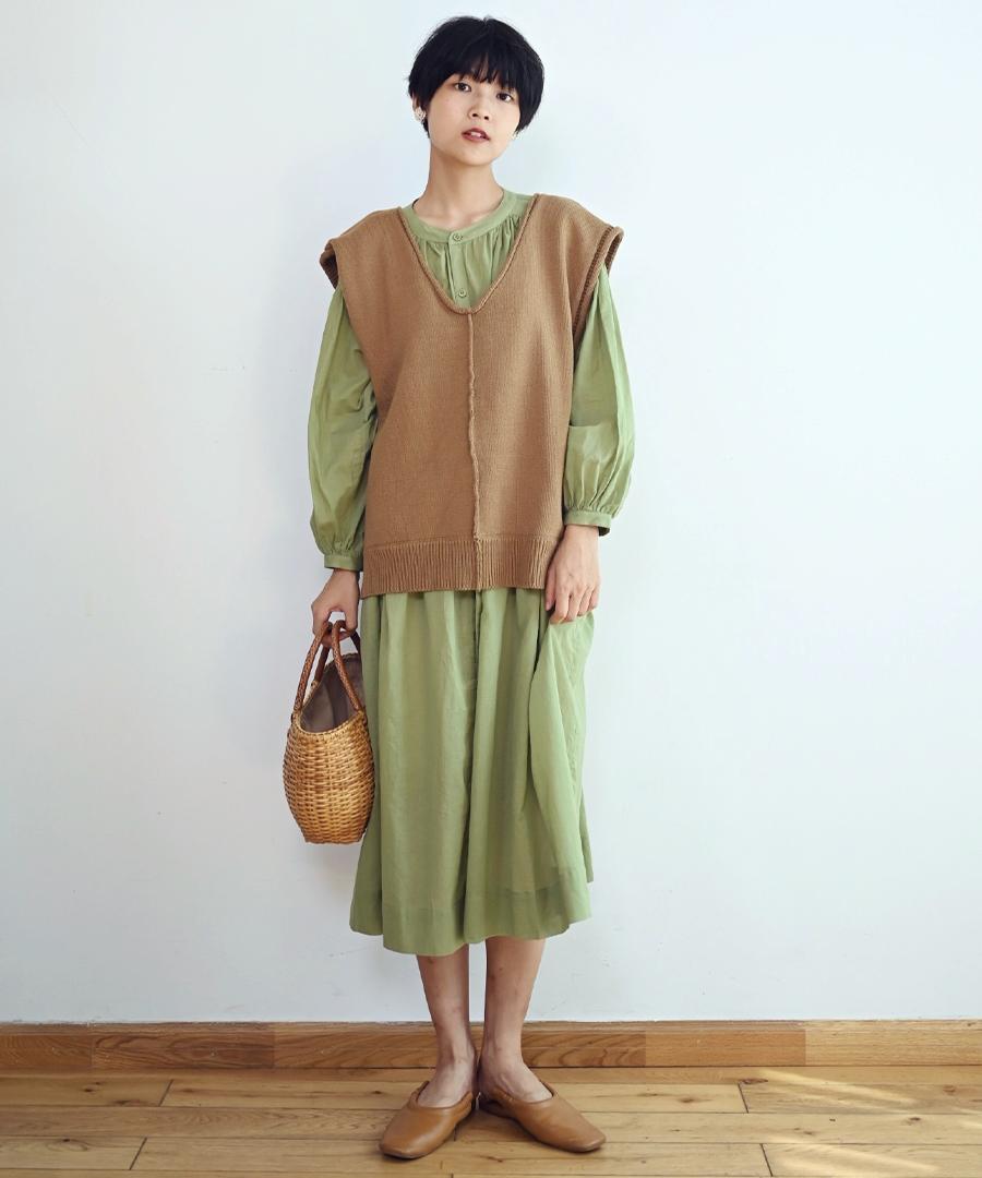 【SUMMER SALE/クーポン利用不可・返品交換不可】ARG knit vest 25013 【メール便配送対応(1点まで)2点以上ゆうパック】