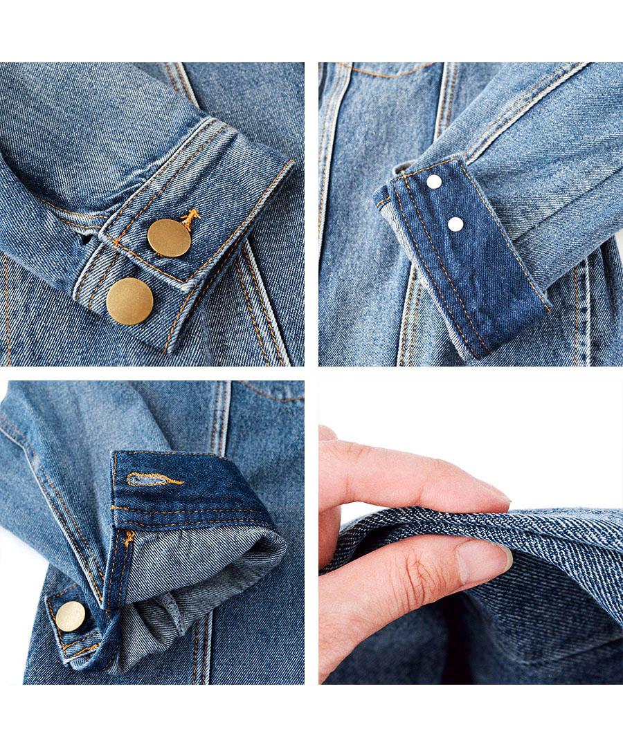 ノーカラービッグGジャン 21024 【ゆうパックのみ】