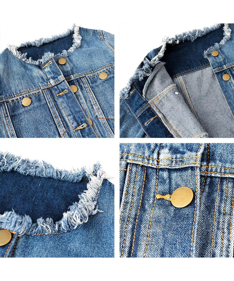 ノーカラービッグGジャン 21024 【宅急便配送のみ】