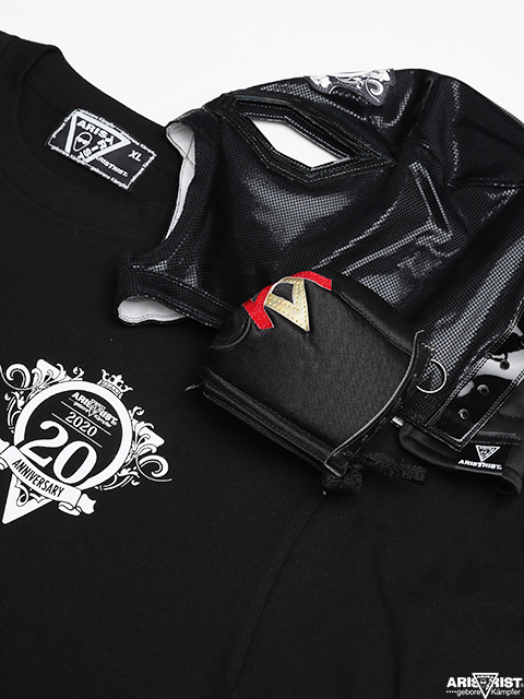 Kampfer mask  ATマスク<Dタイプ>+20周年Tシャツセット(マスクミニポーチ付き)