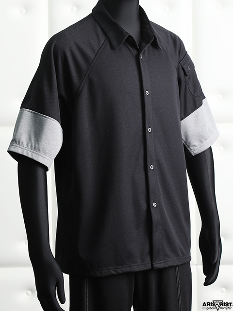 【サマーセール】ATカラーブロックシャツ
