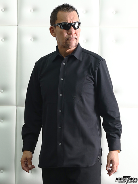 ATパンチエプロンシャツ