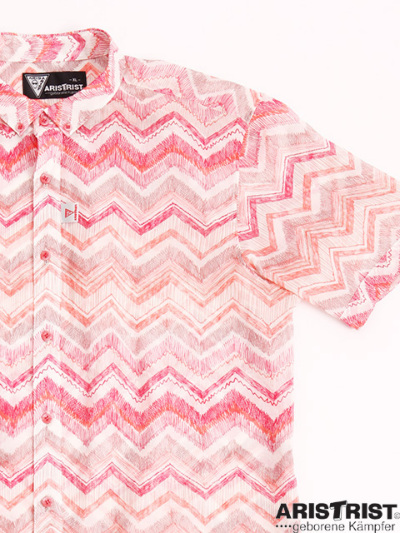 ATプリンテッドシャツ
