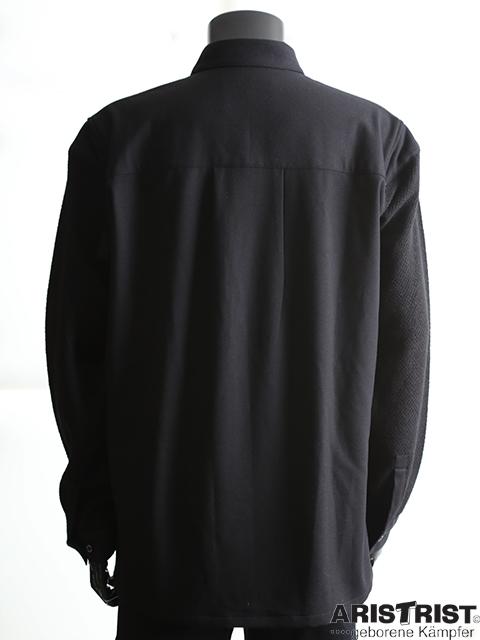 ATニットスリーブシャツ
