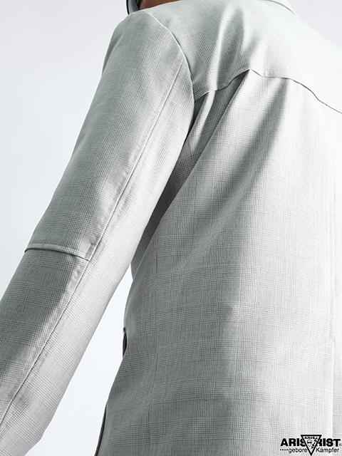 【ウインターセール】ATホワイトチェックジャケット