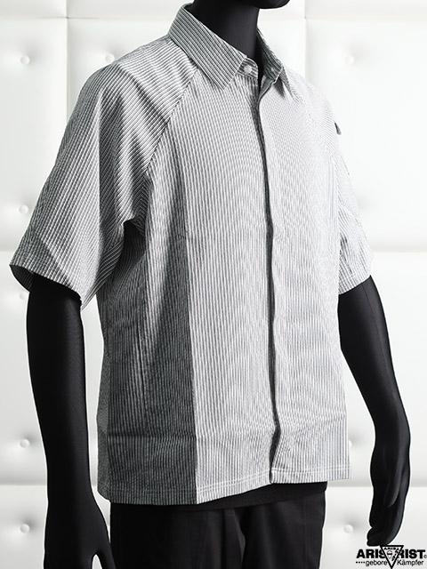 【サマーセール】ATラグランストライプシャツ