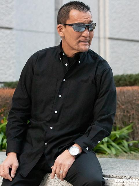 AT Theビッグポケットシャツ