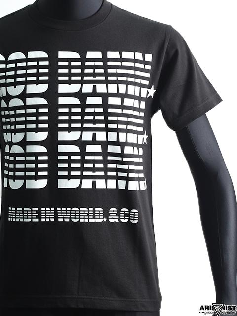 【ウインターセール】AT×MIW ガッデムTシャツ
