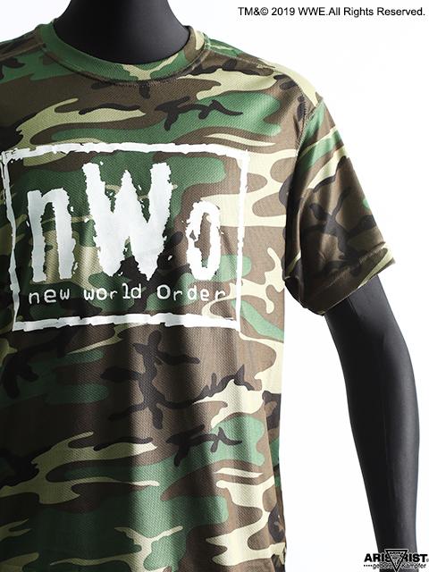 【ウインターセール】AT×WWE nWoドライクールTシャツ