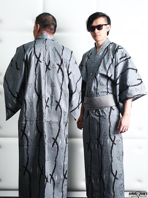 AT浴衣(角帯+信玄袋セット)