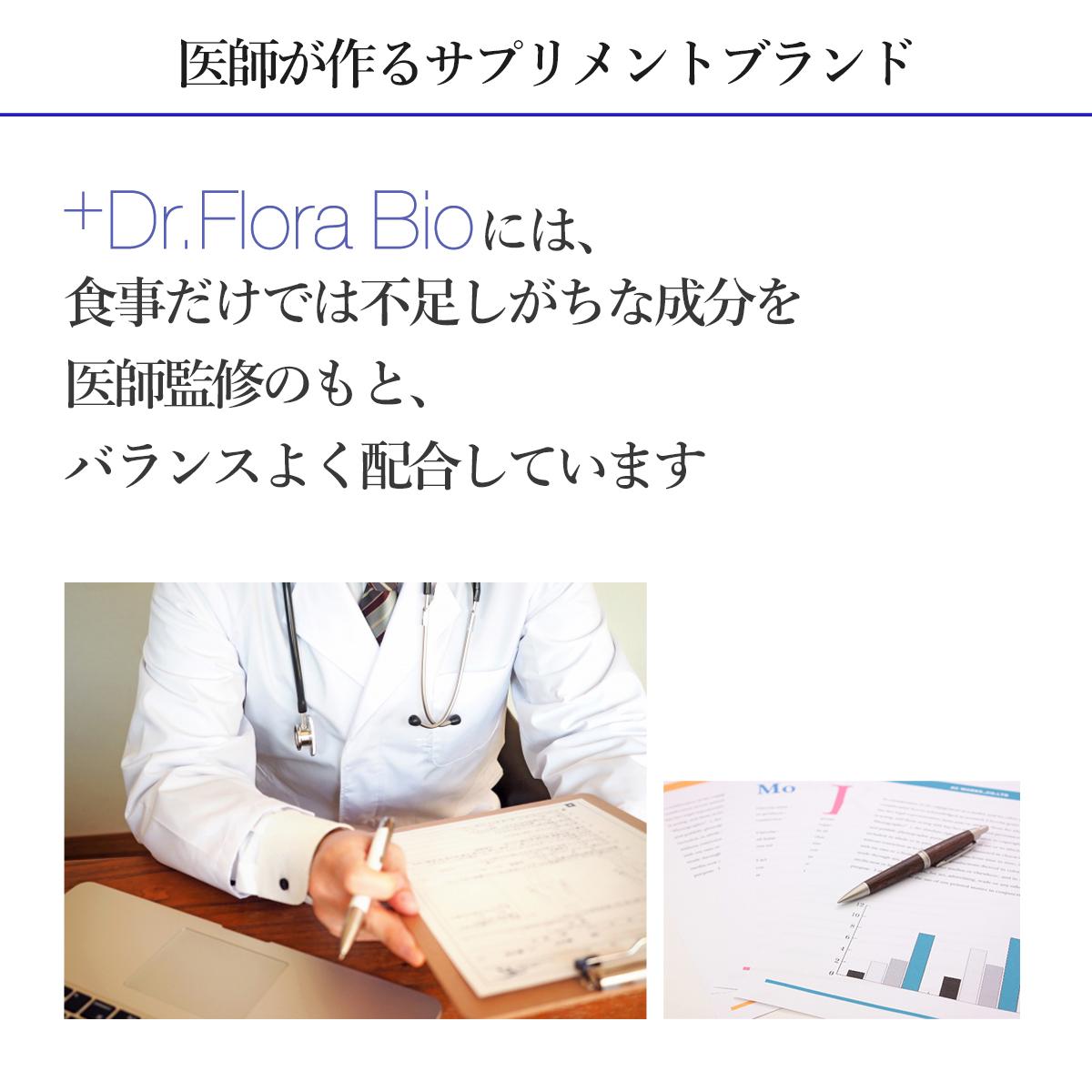 ドクターフローラビオ トライアルセット(3包) 送料無料(郵送でポストにお届け)