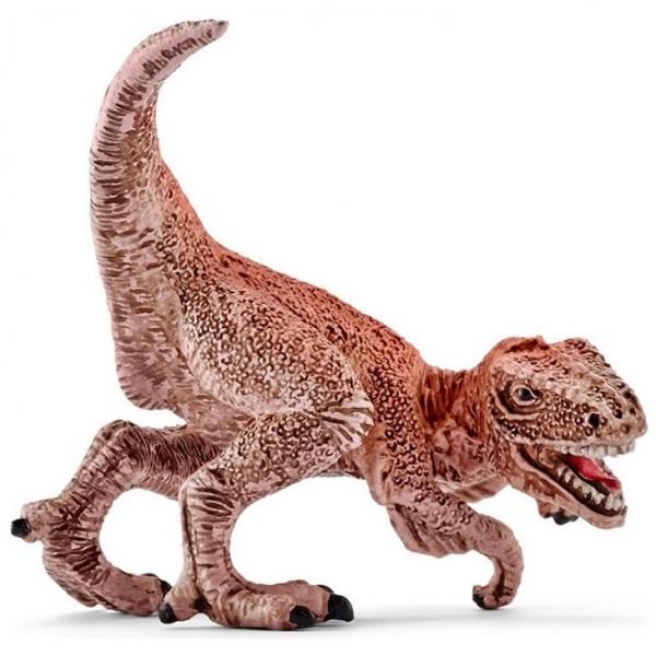 Schleich (シュライヒ) ミニ恐竜 ベロキラプトル(茶)(ミニ) 829381