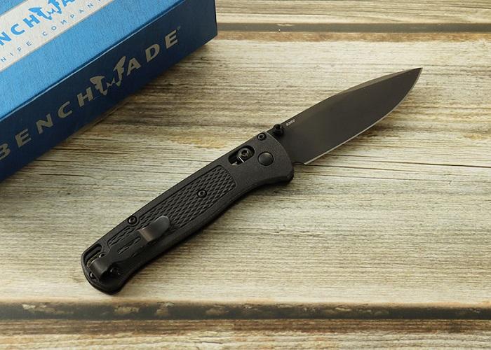 ベンチメイド 535BK-2 バグアウト ブラック-ブラック 折り畳みナイフ,BENCHMADE BUGOUT Folding Knife