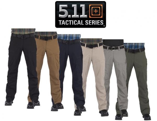 軍用 5.11 ファイブイレブン タクティカル Apex Pants アペックス ストレッチ パンツ ブラック  32×30
